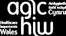 Health Inspectorate Wales logo