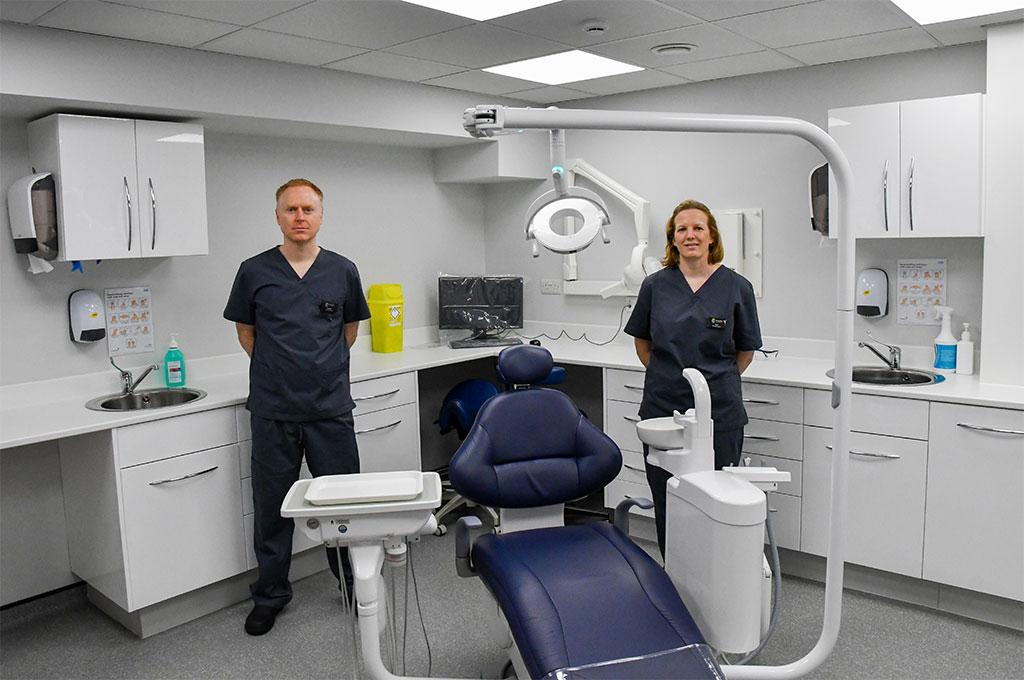 Willows Dental Practice Swansea - Richard and Tesni
